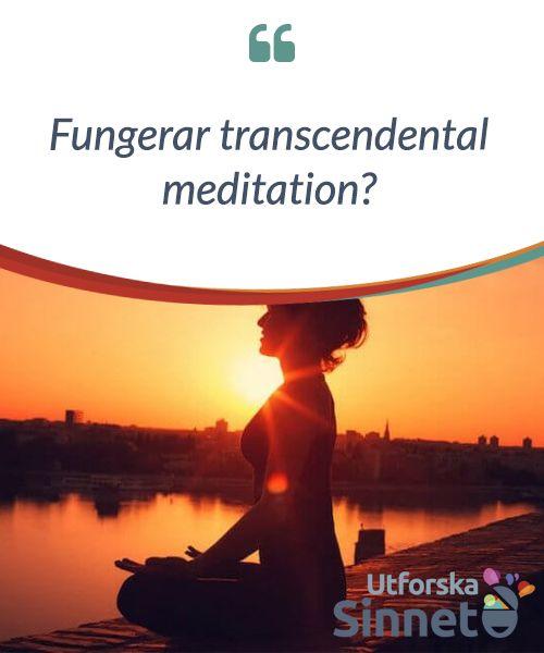 Fungerar transcendental meditation?  #Transcendental #meditation, eller TM, är den renaste, enklaste och #effektivaste formen av meditation som världen någonsin sett. Det är en teknik av automatisk transcendens som används för att föra sinnet till det enklaste och #mäktigaste stadiet av medvetande, fritt från all #mental kontroll eller #tankeprocess.