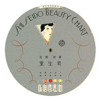 Shiseido Beauty Chart, 1936