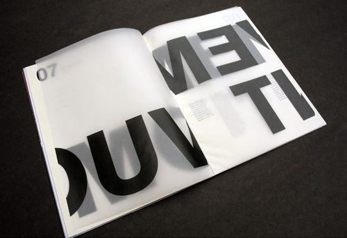 Mémoire transparence mise en page vellum