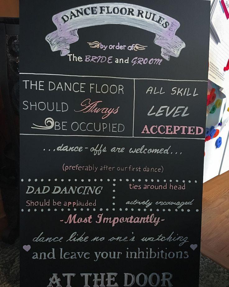 25+ Best Ideas About Dance Floor Rules On Pinterest