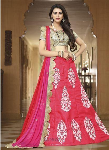 d6c23a289 Designer Banglori Satin Wedding Wear Embroidery Work Wholesale Lehenga Choli  7440  lehenga  fashion  shopping  wholesale  bride  wedding