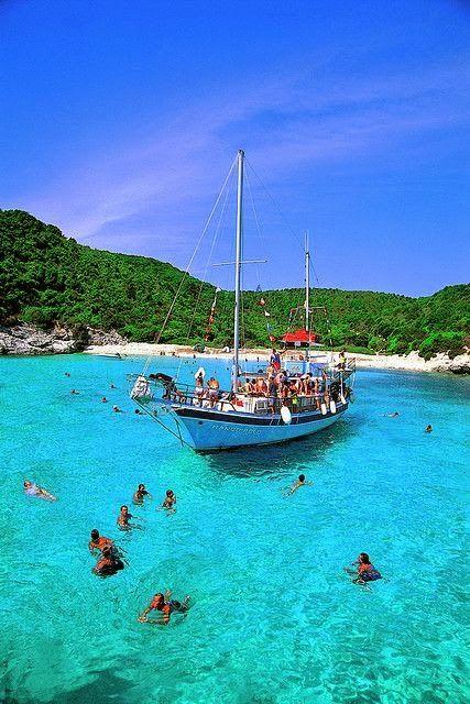 Voutoumi Beach - Antipaxos