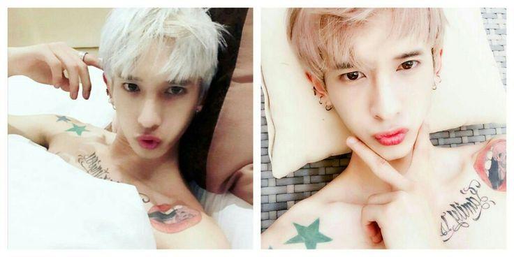 VERMUDA (debut 2017?!) U/Woo  real name: u changbum / 우창범    stage name: u / 우    birthday: october 7, 1993    position: maknae, rap    height: 178 cm    weight: 58 kg    blood type: —    » former member of group 100%    » has lots of tattoos