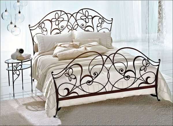 twin size wrought iron headboard white full beds king bed frames