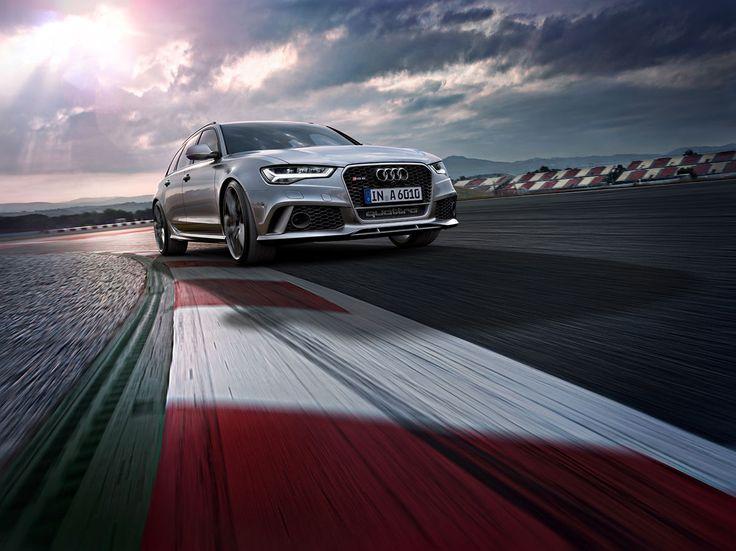 Audi RS6 on Behance