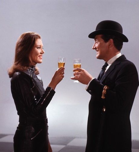 Miss spending late nights with John Steed & Mrs. Peel. The Avengers.
