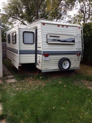 Camping trailers, Fifth wheel and Travel trailers on Pinterest