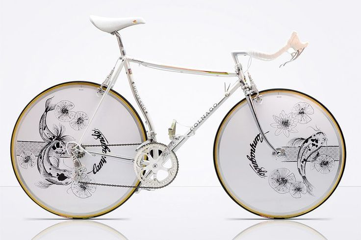 Javier Jubete of the Spanish-based 'Vintage Luxury Bicycles' brand specializes in bespoke, chrome-engraved bicycles featuring traditional Japanese art.