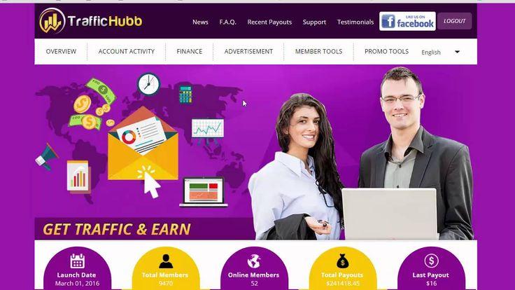 TrafficHubb Обзор проекта Результаты первого месяца работы в TrafficHubb