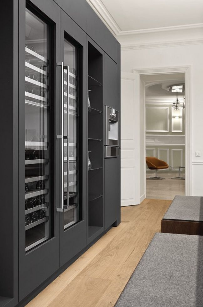 Exclusive refrigeration of the highest standard. http://www.lacuisineinternational.com/Gaggenau-s/2011.htm http://amzn.to/2keVOw4