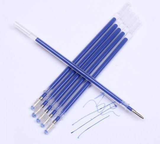 4-Pack Heat Erase Pens for Fabric with 8 Free Refills for Quilting Sewing