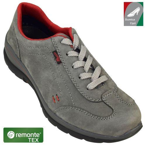 Remonte vízálló női bőr cipő D5301-45 szürke