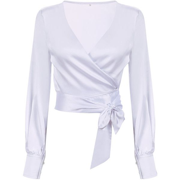 17 Best ideas about White Long Sleeve Tops on Pinterest | Multi ...
