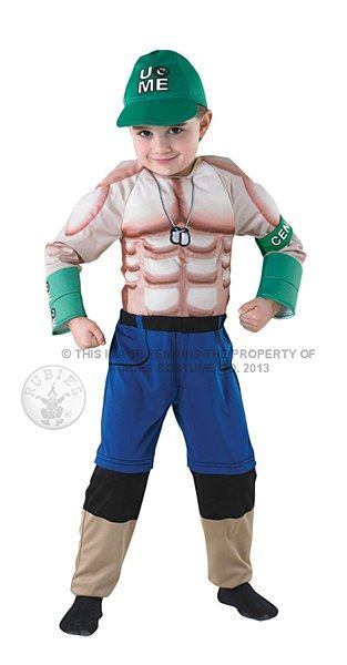 Become your favourite WWE Superstar this Halloween when you step into our John Cena Costume.