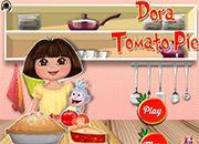 Dora Tomato Pie | juegos de cocina - jugar online