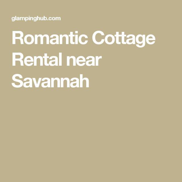 Romantic Cottage Rental near Savannah