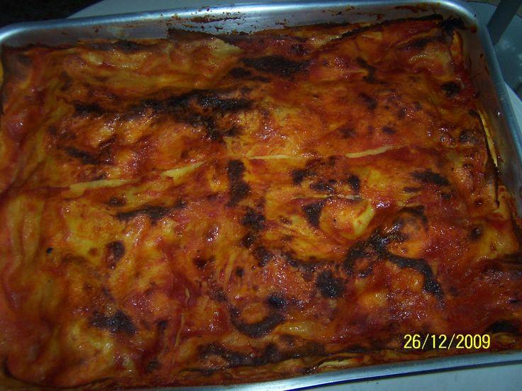 Vera lasagna abruzzese - by Chef Ninò