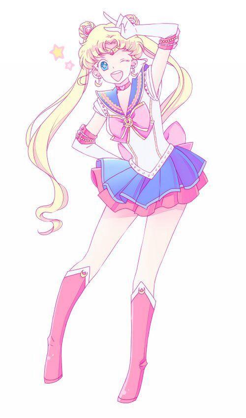 Sailor Moon    anime girl