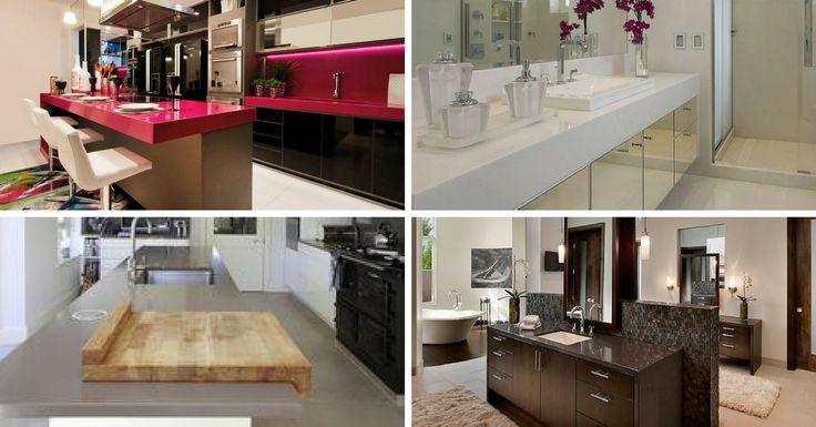 O Silestone é um material industrializado feito com 93% de quartzo e resina de poliéster. É um dos materiais de eleição pelos construtores e perfeito para