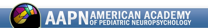 AAPN American Academy Of Pediatric Neuropsychology | Provider Directory
