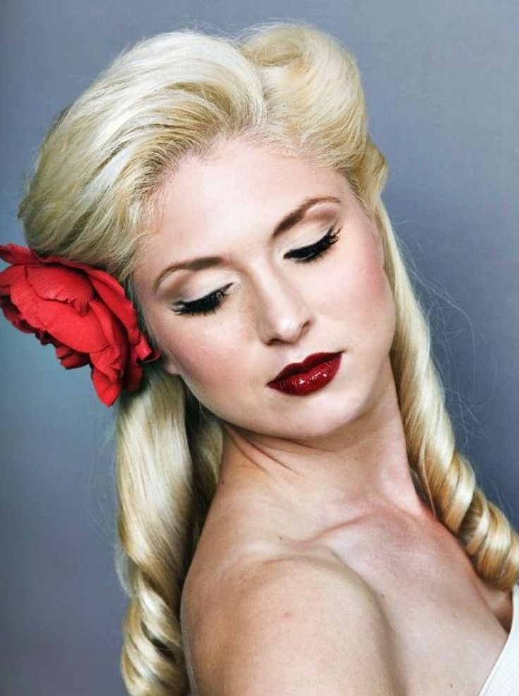 Pin Up Hairstyles for Long Hair | Pin Up Long Hair Best Hairstyle