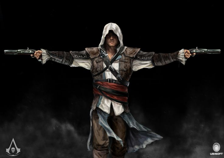 another version of assassins creed 4 fan art