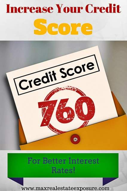 Increase Your Credit Score to Get The Best #Mortgage Rates Possible: http://www.maxrealestateexposure.com/how-to-avoid-overpaying-for-a-mortgage/