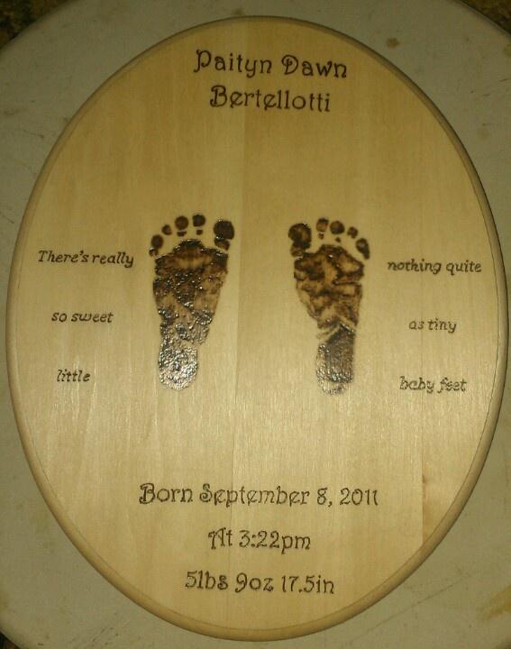 Pyrography Baby Gift I Made Diy Pyrography Wood Burning Crafts
