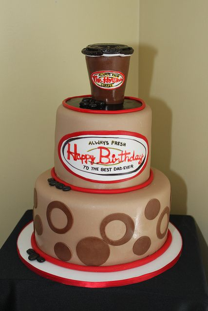 Tim Hortons Coffee Cake