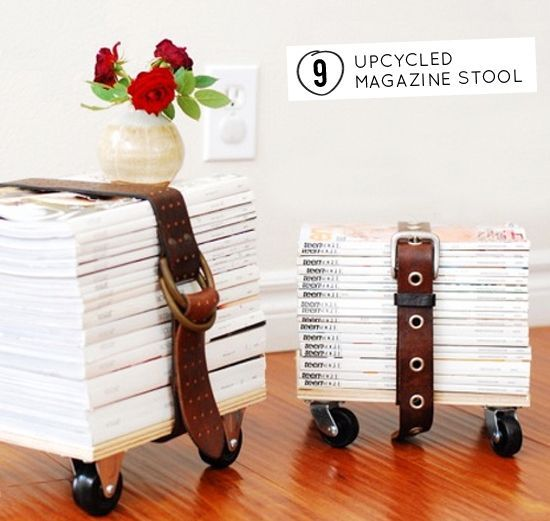 30 Genius Things to Make With Your Old Magazines | StyleCaster