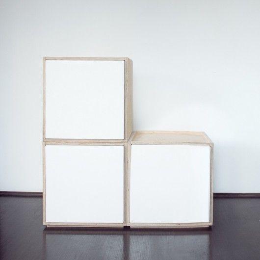 szuflada magnetic - biała - meble modułowe