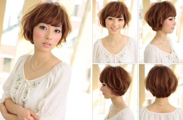 Short Bob Hairstyles Front Back | Short Hairstyle View Hairstyles 2013 - Free Download Japanese Short ...