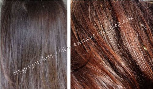 M on test réussi, voici mes photos et mes recettes pour camoufler les cheveux blancs ! Pour ce test j'ai utilisé du henné et de l'indigo. L'indigo est une plante qui va renforcer les nuances et foncer la couleur. Seul le henné ne suffit pas pour couvrir...