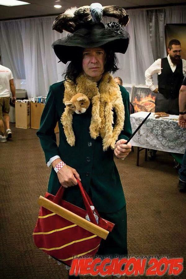 Alan Rickman dressed as all his characters at Megacon 2015 - No other cosplay will ever be able to top this!
