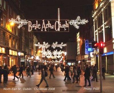 Christmas in Dublin!