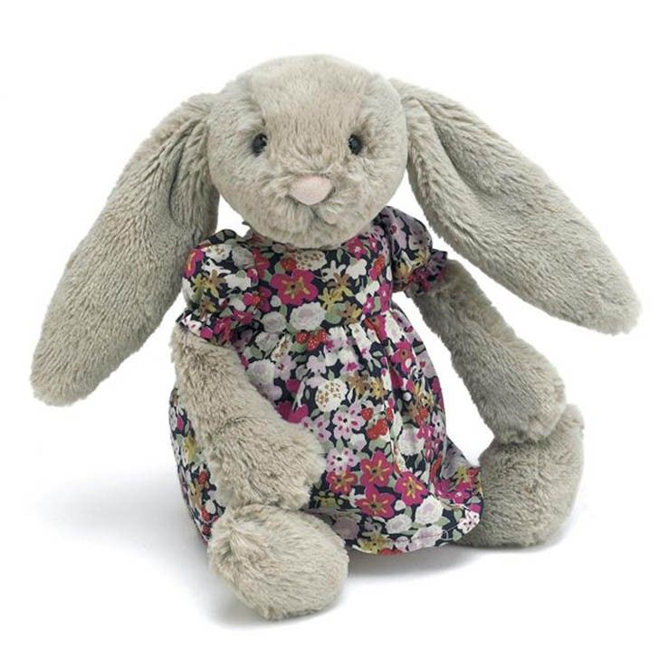 84 best christening gifts ideas images on pinterest baptism buy betsy floral bashful beige bunny by jellycat at mighty ape australia from the fantastic bashful range this lovely bunny is made from incredibly soft negle Image collections