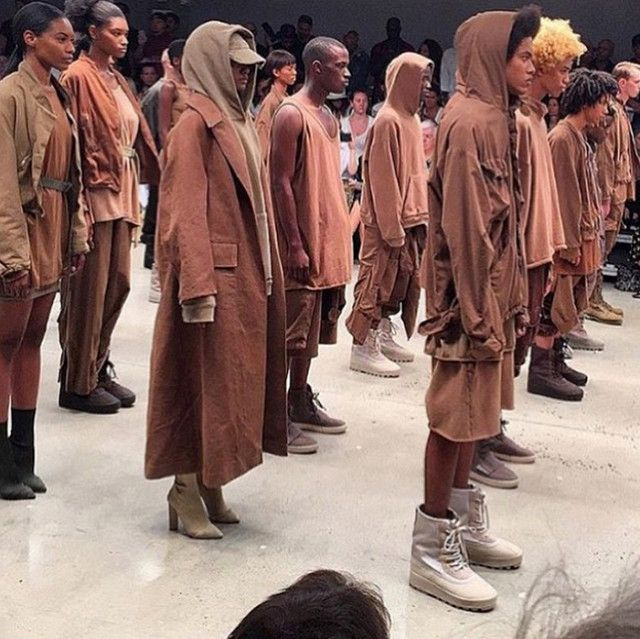 Instagrams from Kanye West's Yeezy 2 Show NYFW