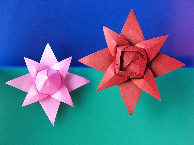 137 best images about origami stars and flowers on pinterest