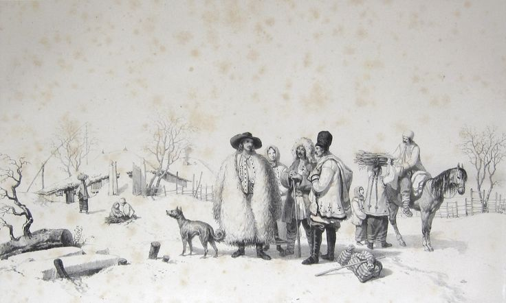 Costume din Valahia - Iarna