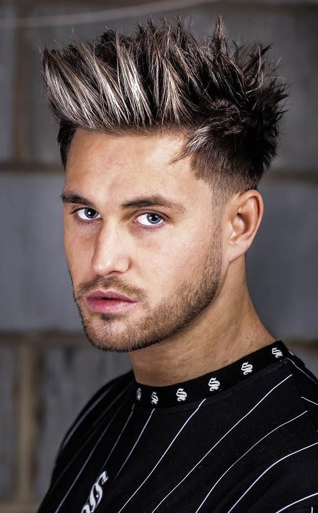 20 Exquisite Spiky Hairstyles Leading Ideas For 2019 Spiked Hair Spiky Hair Hair Images