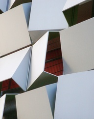 The iconic 'Sugarcube' car park in Sheffield by London-based architects Allies and
