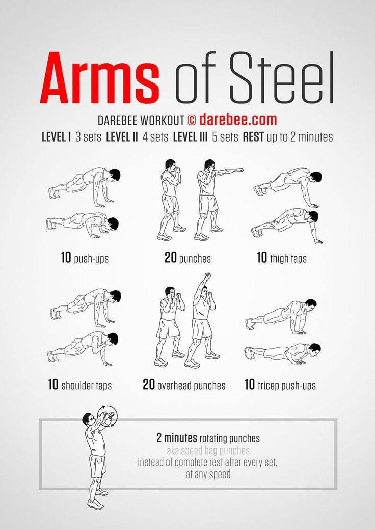 Arms of Steel Workout | Posted By: NewHowtoLoseBellyFat.com |