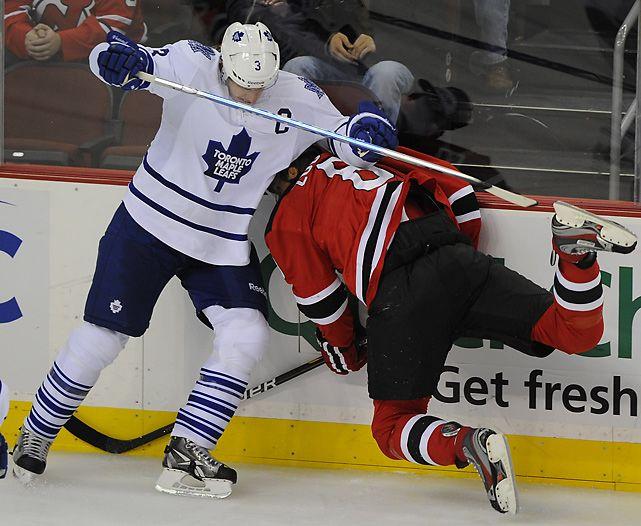 Dion Phaneuf Toronto Maple Leafs