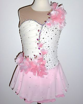 BEAUTIFUL & GORGEOUS FIGURE ICE SKATING DRESS - CUSTOM MADE TO FIT