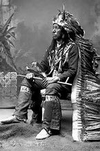 Image result for Chief Peace Pipe Buffalo