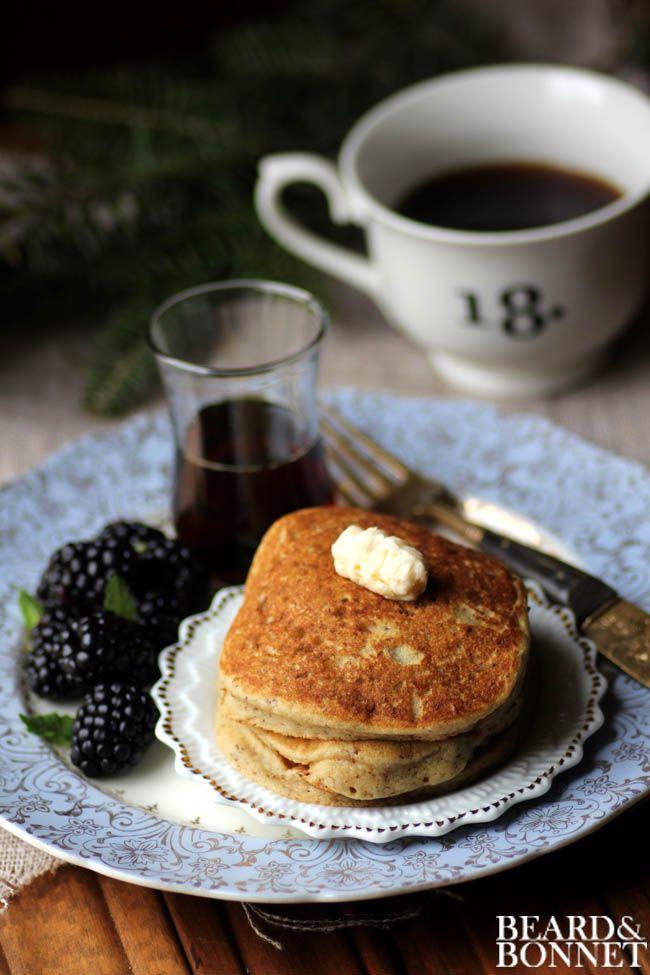 Eggnog Pancakes (Gluten and Dairy Free) | Gluten ...