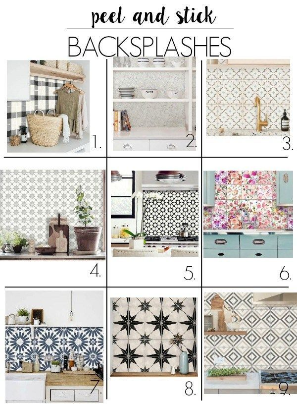 Diy Peel And Stick Backsplash Tile Stick Tile Backsplash Kitchen Backsplash Peel And Stick Diy Backsplash