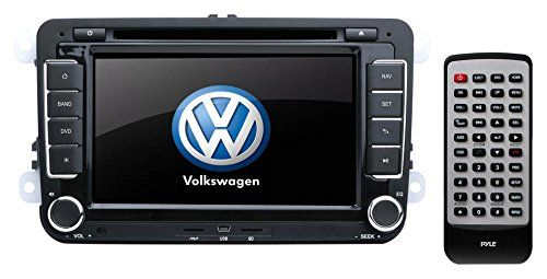 Pyle Volkswagen Universal replacement stereo - Universal vw Volkswagen stereo - Passat 2007 2008 2009 2010 2011 2012 - Jetta 2007 2008 2009 2010 2011 2012 - tiguan 2007 2008 2009 2010 20...