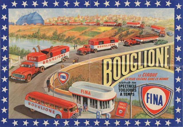 Circus collection: Cirque Bouglione 1963