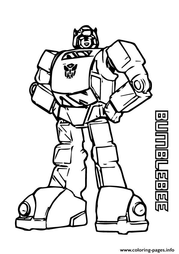 Print Transformers Bumblebee A4 Coloring Pages Bee Coloring Pages Transformers Coloring Pages Coloring Pages For Boys